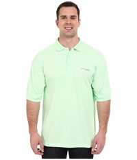 Columbia Perfect Cast Polo Extended Key West Men's Clothing Blue