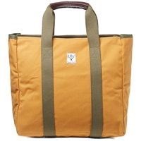 South2 West8 Zip Tool Tote Suntan Sunforger