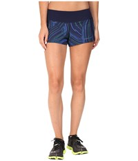Brooks Chaser 3 Shorts Navy Cosmo Women's Shorts