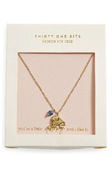 31 Bits Women's Elephant Charm Necklace