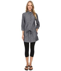 Arc'teryx Blanchard Tunic Denim Women's Blouse Blue