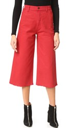 Siwy Catherine Wide Leg Jeans Hot Blooded