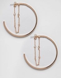 Aldo Formeniga Hoop Earrings Gold
