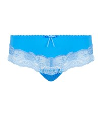 Prima Donna Delight Lace Thong Female Blue