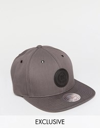 Mitchell And Ness Cap 6 Panel Exclusive To Asos Grey