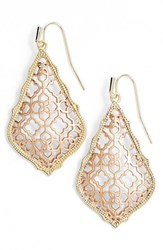Kendra Scott Women's 'Mystic Bazaar Addie' Drop Earrings Gold Rose Gold