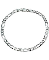 Giani Bernini Fine Figaro Bracelet In Sterling Silver Only At Macy's