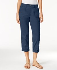 Styleandco. Style Co. Cropped Cargo Pants Only At Macy's New Uniform Blue