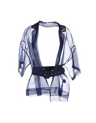 Suoli Shirts Blouses Women Dark Blue