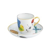 Christian Lacroix Caribe Coffee Cup And Saucer