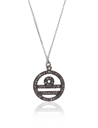 Laura Lee Jewellery Silver Diamond Libra Necklace