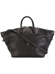 Jerome Dreyfuss Large Shopper Tote Black