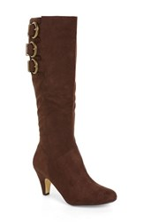 Women's Bella Vita 'Transit Ii' Knee High Boot Brown Suede Wide Calf