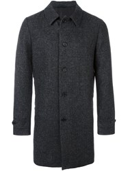 Aspesi Single Breasted Coat Grey
