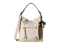 Jessica Simpson Tatiana Hobo Putty Brown Mustard Python Hobo Handbags Beige