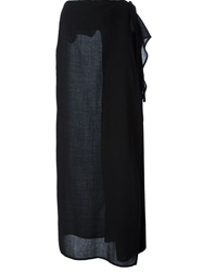 Gianfranco Ferre Vintage 1990'S Maxi Skirt Black