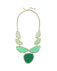 Kendra Scott Marisol Bib Necklace Green