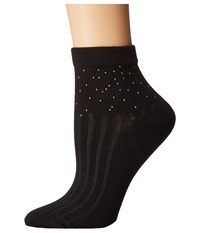 Free People Province Studded Ankle Sock Black Women's Crew Cut Socks Shoes