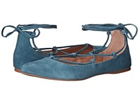 Steve Madden Eleanorr Blue Women's Flat Shoes