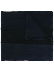 Stone Island Knitted Scarf Blue
