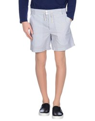 Band Of Outsiders Trousers Bermuda Shorts Men White