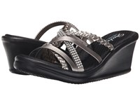 Skechers Cali Rumblers Wild Child Pewter Women's Sandals