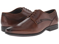 Hush Puppies Kane Maddow Brown Leather Men's Lace Up Cap Toe Shoes