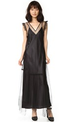 Opening Ceremony Tulle Dress Black