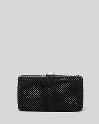 Sondra Roberts Clutch Mesh Box Black