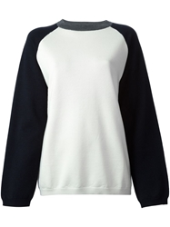 Sofie D'hoore Round Neck Pullover White