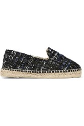 Manebi Manebi Paris Tweed Espadrilles Navy