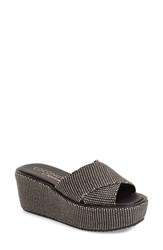 Women's Coconuts By Matisse 'Sailor' Sandal Black Raffia