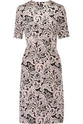 Mary Katrantzou Voluta Printed Silk Crepe De Chine Dress