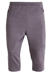 Adidas Performance 3 4 Sports Trousers Grey