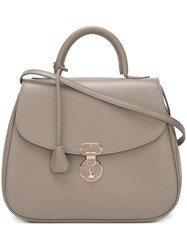 Giorgio Armani Medium 'Obo' Tote Nude And Neutrals