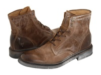 Frye James Lace Up Tan Leather Men's Lace Up Boots