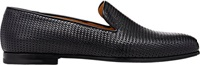 Woven Leather Venetian Loafers