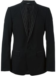 Dolce And Gabbana Smoking Blazer Black