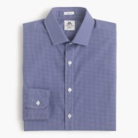 Thomas Mason For J.Crew Ludlow Shirt In Check Deep Blue