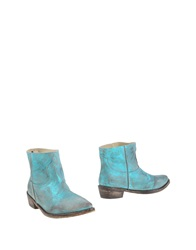 Mr. Wolf Ankle Boots Azure
