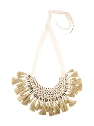 Figue 'Leta' Necklace Nude And Neutrals