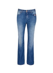 Closed 'Pat' Boyfriend Fit Washed Jeans Blue