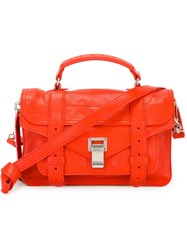 Proenza Schouler Tiny 'Ps1' Satchel Red