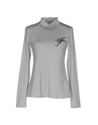 Gianfranco Ferre Gf Ferre' Topwear T Shirts Women Light Grey