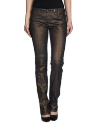 Gianfranco Ferre Gf Ferre' Denim Pants Cocoa
