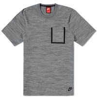 Nike Tech Knit Pocket Tee Grey