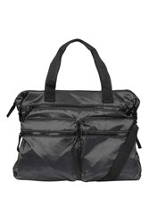 Topshop Mesh Gym Bag Black