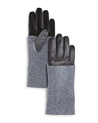 Urban Research Ur Levi Leather Tech Gloves Storm
