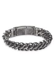 Vitaly Maile Stainless Steel Chain Bracelet Silver