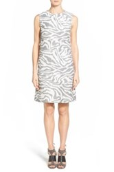 Hugo Boss 'Dakola' Sheath Dress Beige